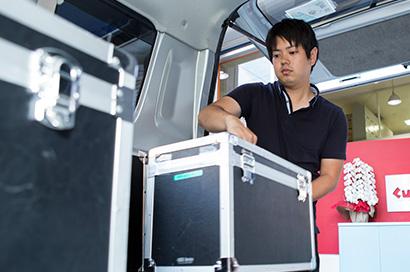 名古屋市内のお客様は、配達・回収無料
